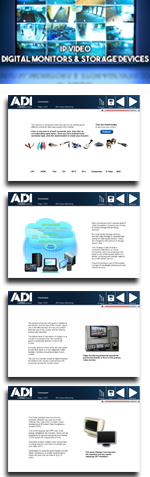 IP Video: Digital Monitors and Storage Devices