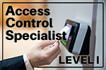 Access Control Specialist Level One Training Bundle
